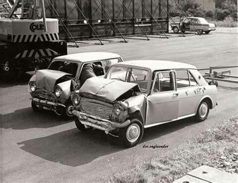 crash test mini minis on