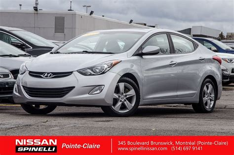 Used 2012 Hyundai Elantra by Used 2012 Hyundai Elantra Gls In Montreal Laval And South