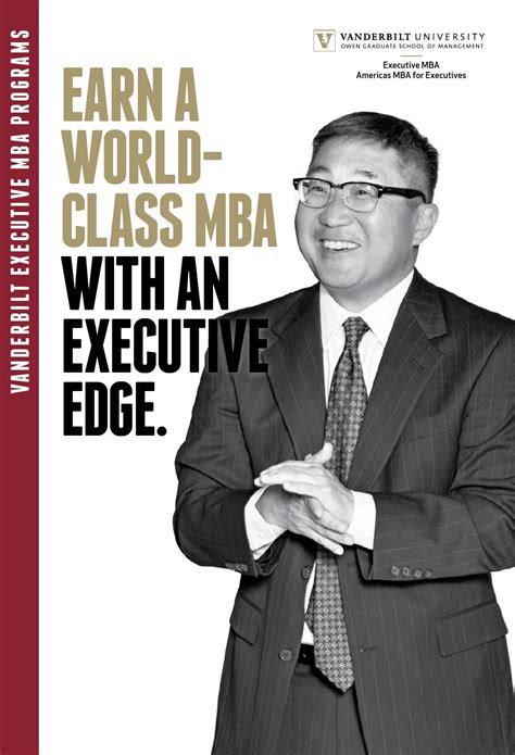 Executive Mba Americas Columbia by Americas And Executive Mba Viewbook By Vanderbilt Owen
