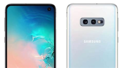 1 Samsung Galaxy S10e by Samsung Galaxy S10e Press Renders Leak Android Authority