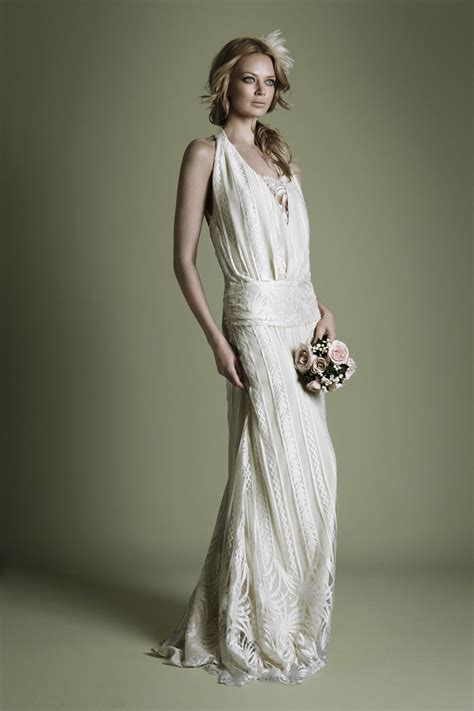 Vintage Style 1920s Wedding Dresses archie and the rug vintage wedding dresses