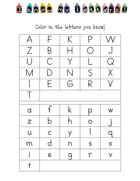 printable alphabet recognition assessment kindergarten letter id assessment pdf new school pinterest