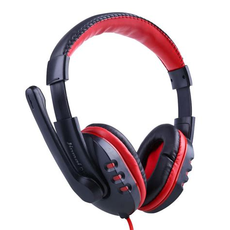Headset Earphone new pro gaming stereo headphones headset earphone with microphone for pc computer laptop