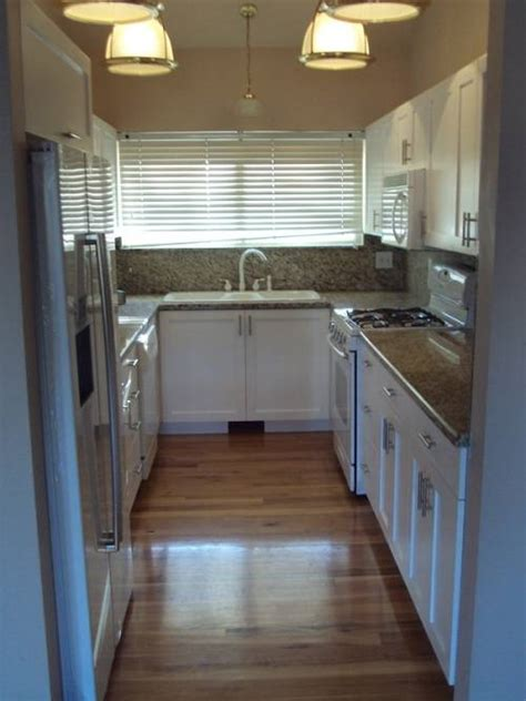 Ideas For Narrow Kitchens Narrow U Shaped Kitchen Designs Home Decor Interior Exterior
