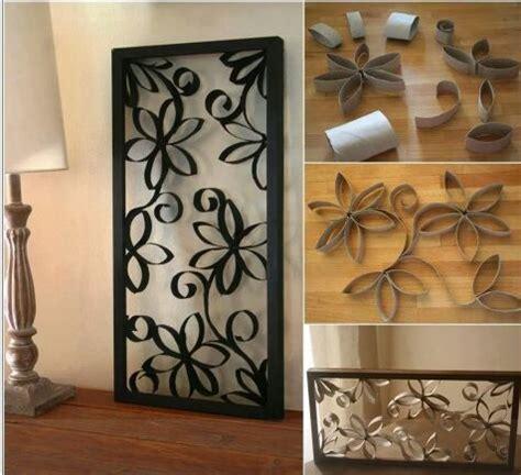 Cuadros Con Tubo De Papel Higinico | complementos decorativos cuadro con tubos de papel
