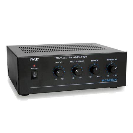 pyle pcma  watt power amplifier    volt
