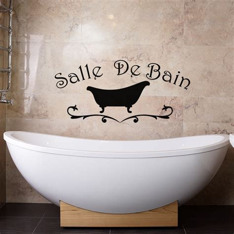 Sticker Baignoire by Sticker Salle De Bain Design Baignoire Pas Cher Stickers