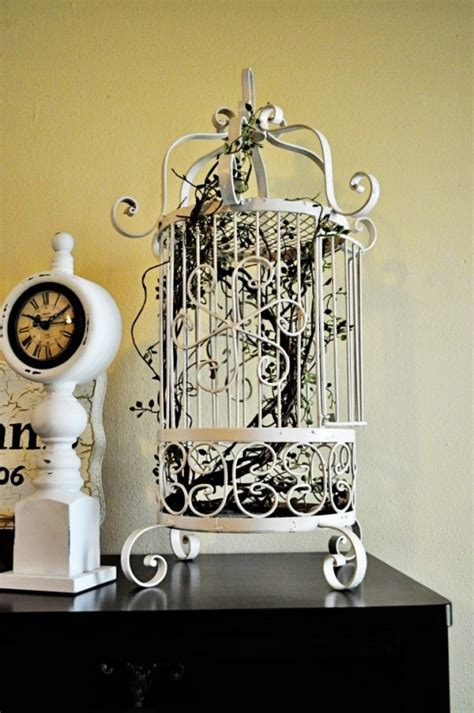 bird home decor using bird cages for decor 66 beautiful ideas digsdigs
