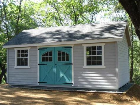 large sheds 12 x20 garden shed with lap siding carriage house doors