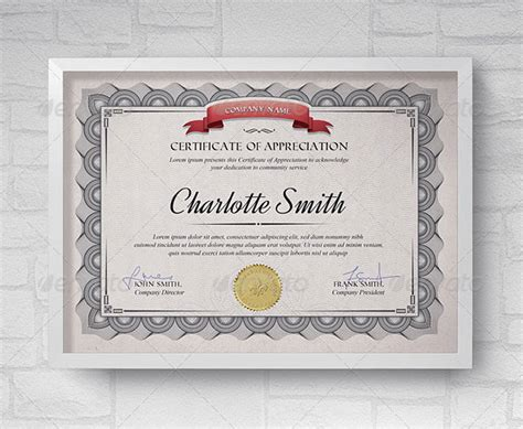 home design certificate design template unique patterned 35 best certificate template designs web graphic