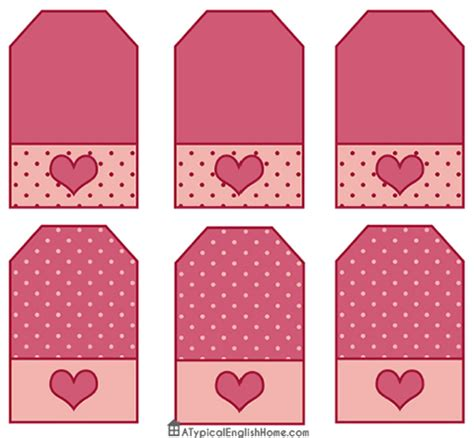 printable ribbon tags a typical english home free valentine s party printables