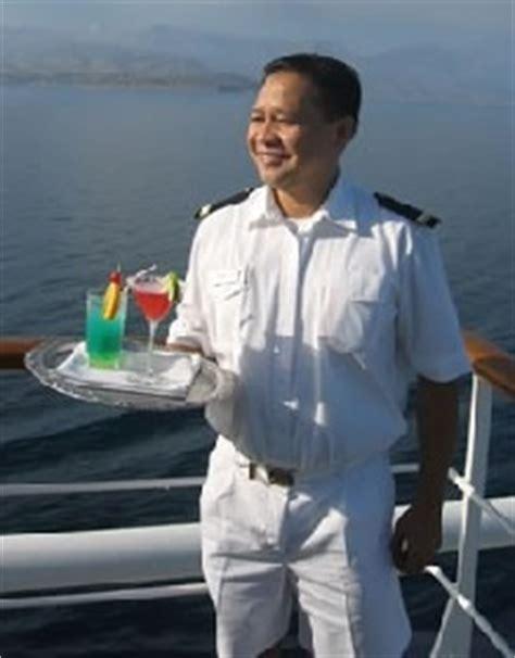 cruise ship bar waiter bar steward bar server