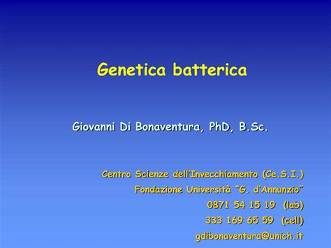 dispense microbiologia genetica batterica dispense