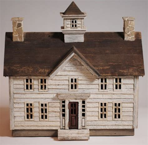 miniature homes models miniature architectural wood folk art house miniature