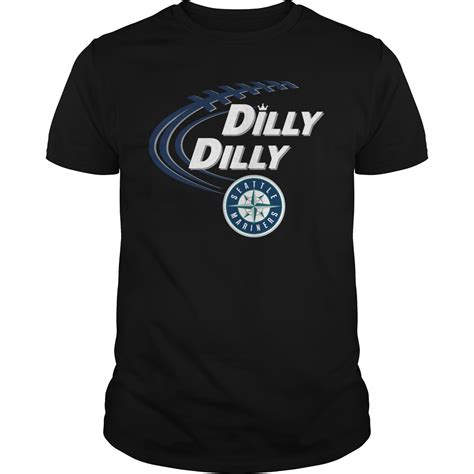 bud light dilly dilly dilly dilly seattle mariners bud light mlb baseball shirt