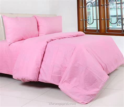 Sprei Polos Putih 160200 sprei panca polos pink muda warungsprei
