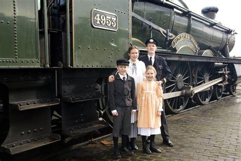 railroad children mr perks roberta phyllis and peter smash