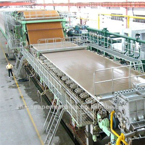 Paper Corrugated Box Machinery - corrugated paper machine view paper machine