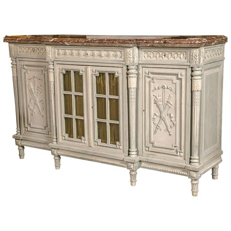 buffet tables with marble top