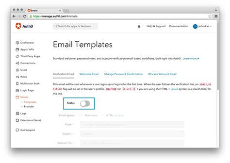 Verification Code Email Template