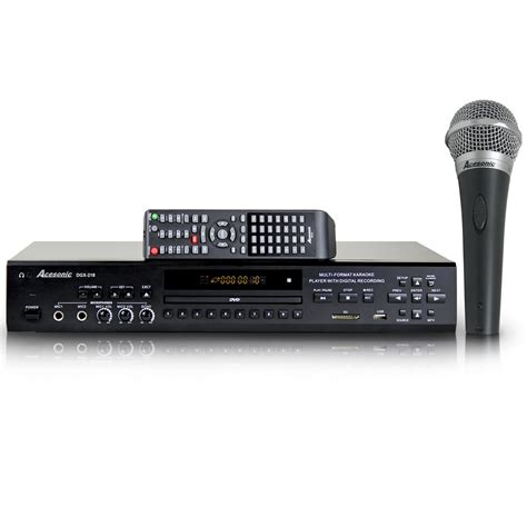 format video karaoke acesonic dgx 218 hdmi multi format karaoke player