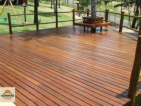 decks de deck de madeira piso para piscina e jardim cobrire