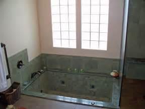 Granite Bathtub Wall Surround Bathroom Tile Design Ideas Photos And Descriptions