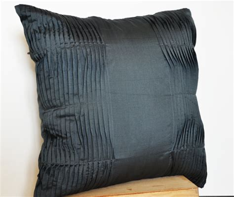 items similar to decorative cushion charcoal grey pillow