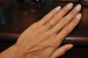 Monogram Ring Silver Tiffany Stackable Rings Prices