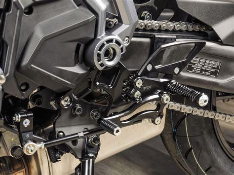 pedane arretrate moto pedane arretrate bonamici racing regolabili kawasaki z 650