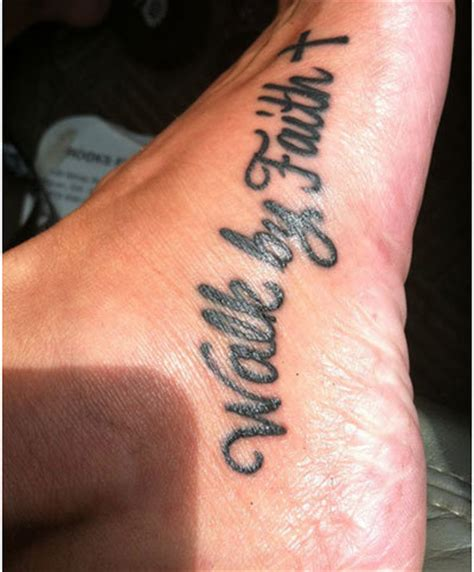 tattoo lettering on foot awesome 3d starfish with lettering tattoo on foot