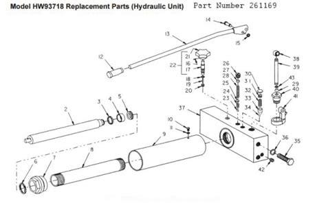 hein werner floor parts diagram lazzar s hcrc sears craftsman floor parts