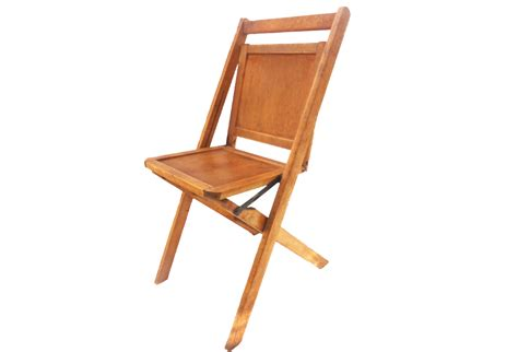 vintage folding chairs pair omero home