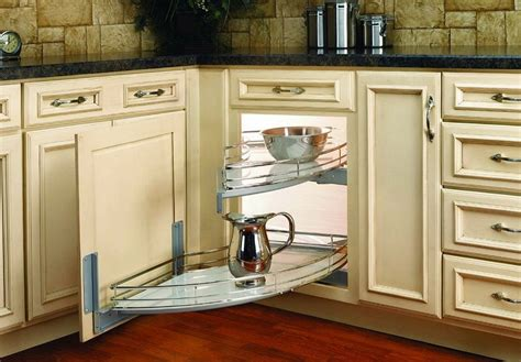 Corner Kitchen Cabinet Organizer Corner Kitchen Cabinet Organizer Home Design Ideas