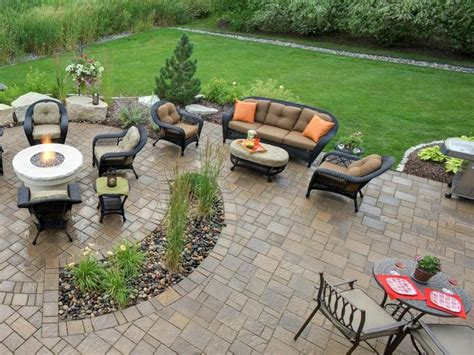 backyard and patio designs best 25 paver designs ideas on