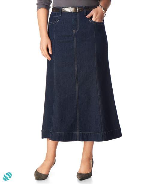 gored denim skirt my style