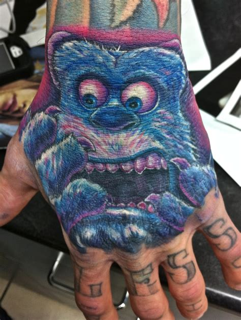 monster tattoos here s a load of tattoos lazer