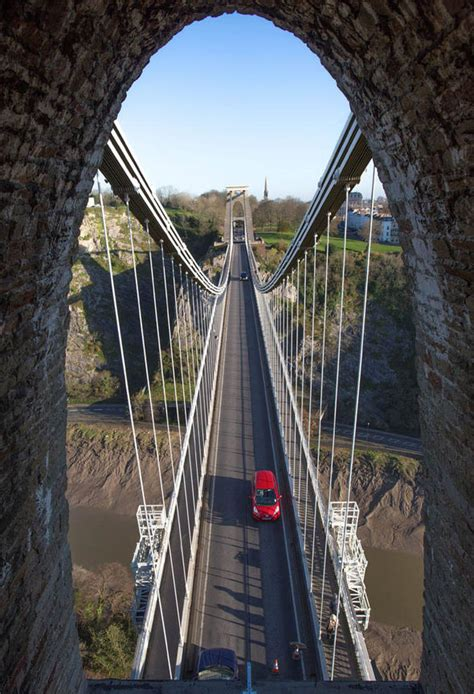 design engineer bristol sarah guppy patented the clifton suspension bridge before