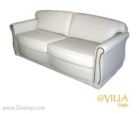 villa sofa villa eagle sleeper sofa glastop inc