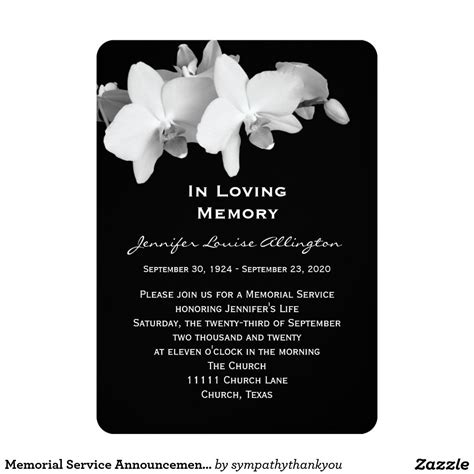 service announcement template bdebdbeffecbbfd new funeral service announcement template