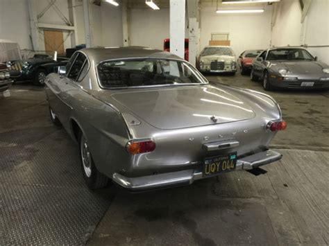 volvo  coupe  silvergold  sale  volvo p  miles stored   years