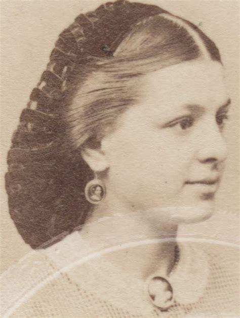 1860s hairstyles dressing the 1840s 1860s velvet hair net