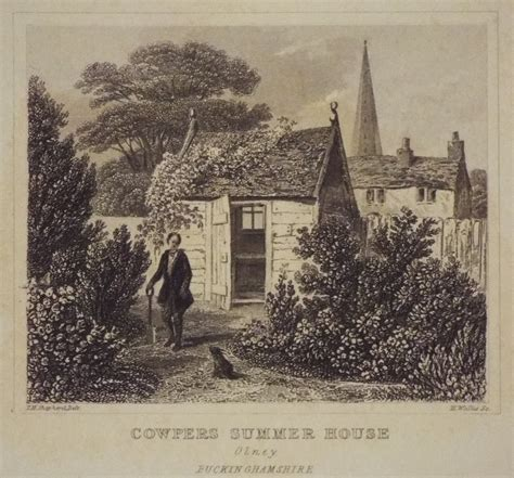 Summer Prints From Wallis antique print cowpers summer house olney