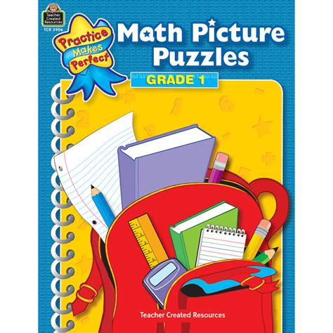 math picture book math picture puzzles grade 1 tcr3906 created