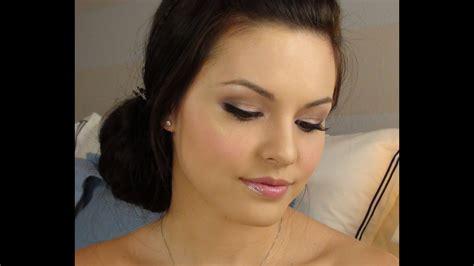 urban decay naked bridal makeup tutorial youtube