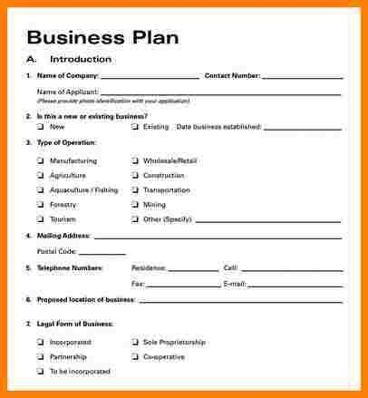 Simple Business Plan Template Word Letter Format Simple Business Plan Template Word