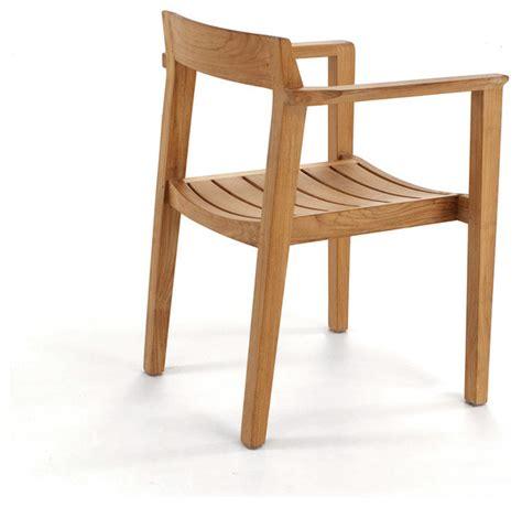 modern teak outdoor furniture horizon teak armchair modern outdoor lounge chairs