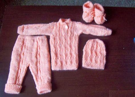 pantalones tejidos a palitos para recien nacidos curso de tejido a mano conjunto para beb 233 prematuro