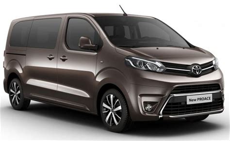 Toyota Proace Toyota Hilux And Proace To Debut At Cv Show 2016 Parkers
