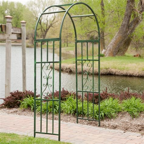 Metal Arched Trellis arbor metal arbor tool galleries